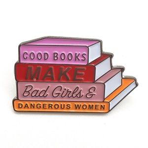 Jewelry - Good Books Pin Badge